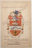 Bank of Nova Scotia arms sketch (coloured)