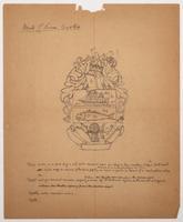 Bank of Nova Scotia arms pencil sketch with description 2
