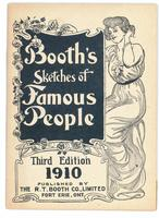 Booth's sketches of famous people. 3rd ed.