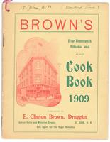 Brown's New Brunswick almanac and cookbook 1909