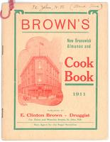 Brown's New Brunswick almanac and cookbook 1911