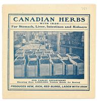 Canadian herbs with iron