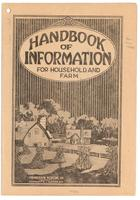 Handbook of information for household and farm