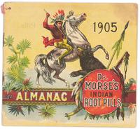 Dr. Morse's Indian Root Pills almanac 1905