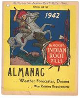 Dr. Morse's Indian Root Pills almanac 1942