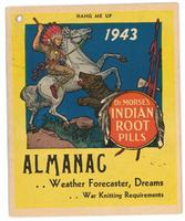 Dr. Morse's Indian Root Pills almanac 1943