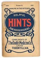 Dodd's helpful hints for housekeepers 1912