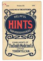 Dodd's helpful hints for housekeepers 1913