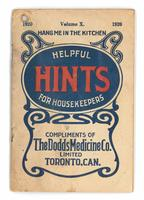 Dodd's helpful hints for housekeepers 1920