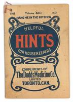 Dodd's helpful hints for housekeepers 1923