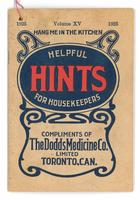 Dodd's helpful hints for housekeepers 1925