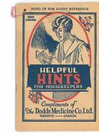 Dodd's helpful hints for housekeepers 1928