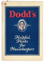 Dodd's helpful hints for housekeepers 1934?