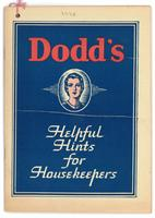 Dodd's helpful hints for housekeepers 1938