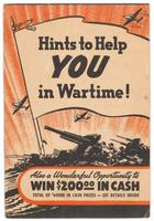 Hints to help you in wartime!