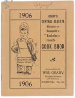 Geary's Central Alberta almanac and housewife's and bachelor's favourite cook book