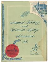 August flower and German syrup almanac 1890