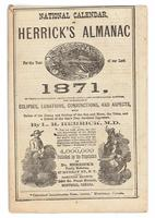 National calendar, or Herrick's almanac 1871
