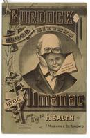 Burdock Blood Bitters almanac 1886