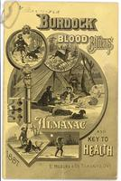 Burdock Blood Bitters almanac 1887