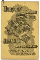 Burdock Blood Bitters almanac 1888