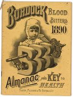 Burdock Blood Bitters almanac 1890