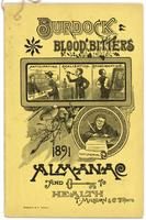 Burdock Blood Bitters almanac 1891