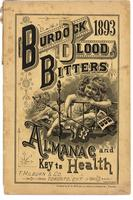 Burdock Blood Bitters almanac 1893
