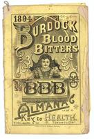 Burdock Blood Bitters almanac 1894