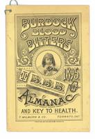 Burdock Blood Bitters almanac 1895