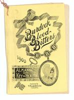 Burdock Blood Bitters almanac 1900