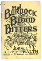 Burdock Blood Bitters almanac 1905