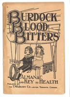 Burdock Blood Bitters almanac 1910
