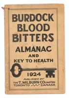 Burdock Blood Bitters almanac 1924