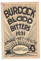 Burdock Blood Bitters almanac 1931