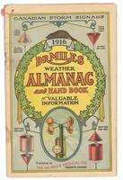 Dr. Miles weather almanac and hand book of valuable information 1916