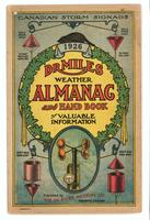 Dr. Miles weather almanac and hand book of valuable information 1926
