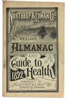 Northrop & Lyman Co.'s family almanac and guide to health 1892