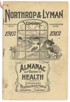 Northrop & Lyman Co.'s family almanac and guide to health 1912