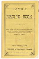 Northrop & Lyman Co.'s family recipe book 1872