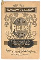 Northrop & Lyman Co.'s family recipe book 1897