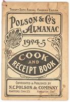 Polson & Co.'s almanac cook and receipt book
