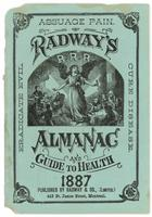 Radway's almanac and guide to health 1887