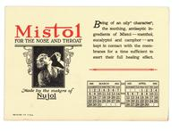 Mistol for the nose and throat