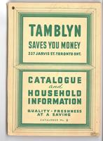 Catalogue of household information, no. 2