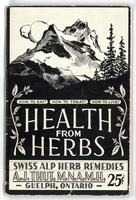 Swiss Alp Herb Remedies: health from herbs