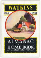 Watkins almanac and home book of useful information 1934