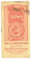 William's Royal Crown Remedy and Bitters