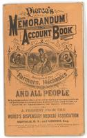 Pierce's memorandum and account book 1880