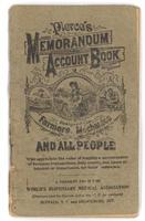 Pierce's memorandum and account book 1925
